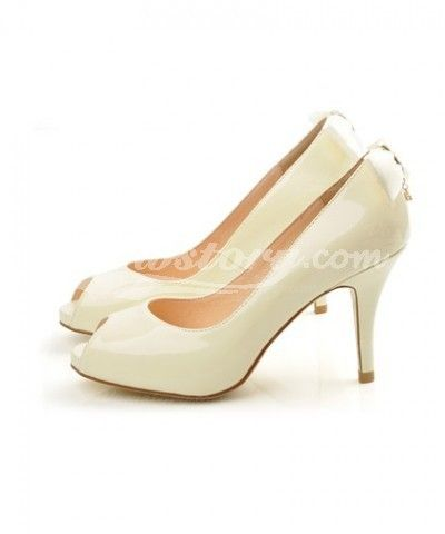 Pale Yellow High Heels