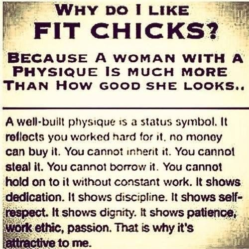 Fit chicks? Fitness quotes
