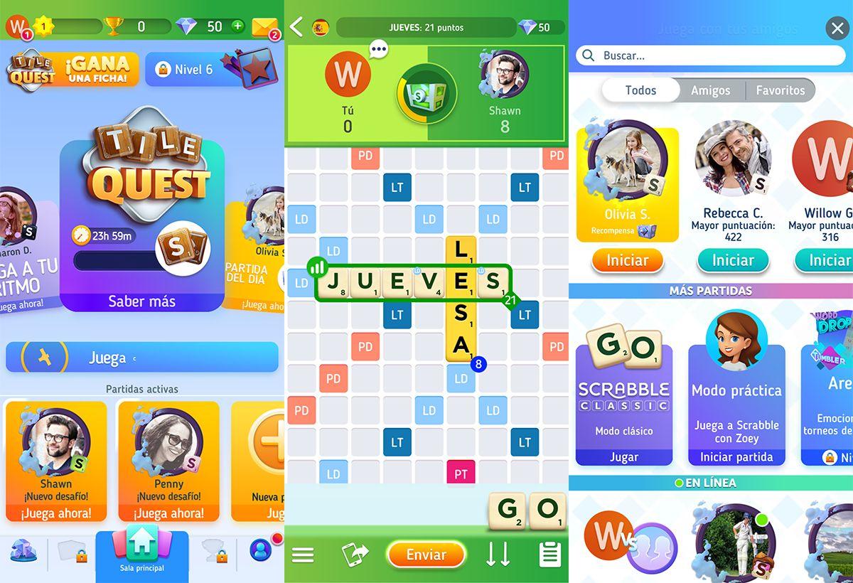 El Famoso Juego De Palabras Llega Bien Renovado Con Scrabble Go Scrabble Juegos Juegos Multijugador