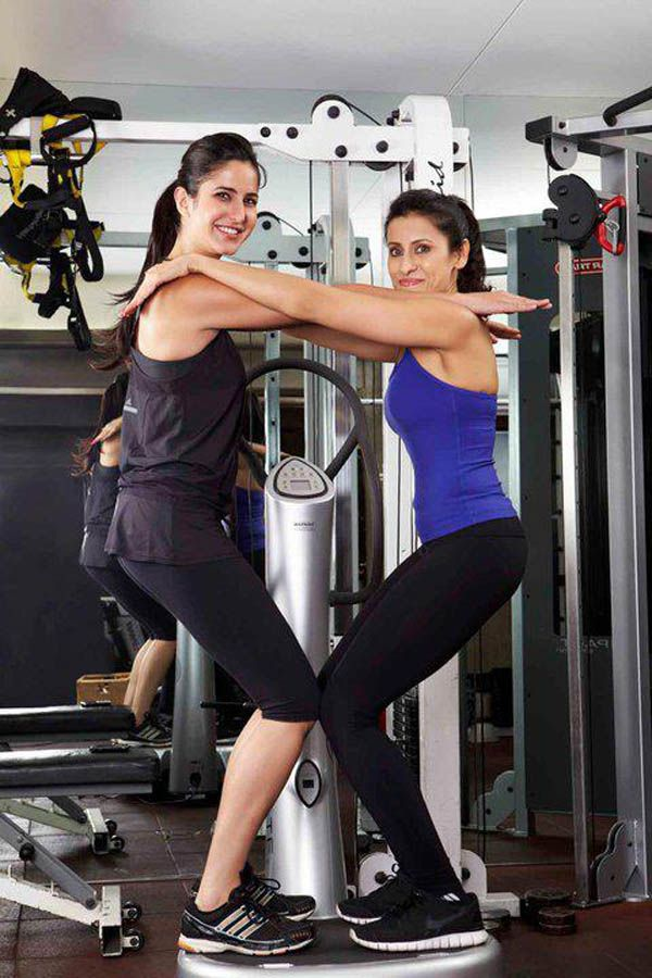 Katrinakaif At The Gym Katrina Kaif Katrina Bollywood Actress