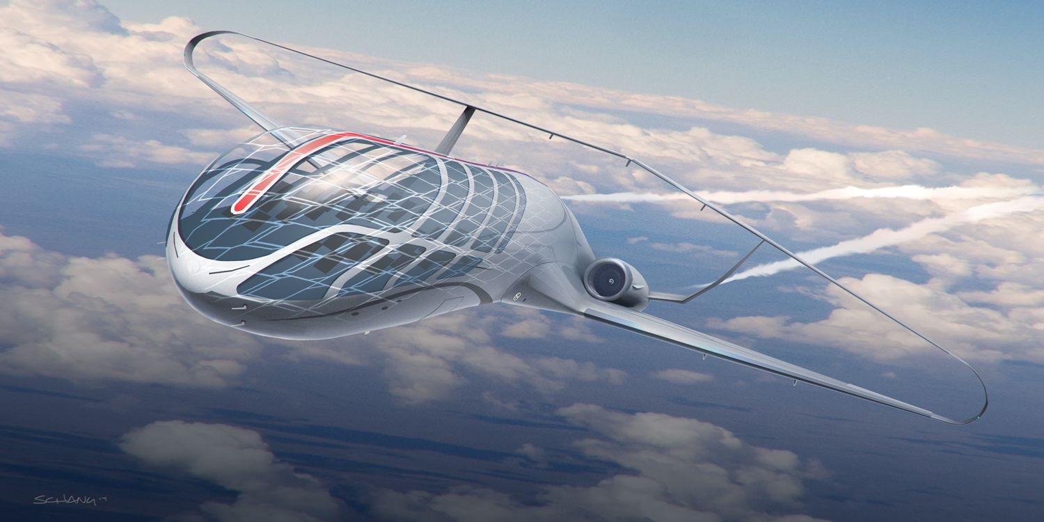 Flying in a bubble canopy airplane and traveling at the speed of light are some of the concepts illustrated by Stephen Chang an ex-Star Wars designer ... & Future of air travel by ex-Star Wars designer.