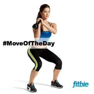 #MoveOfTheDay: Squat Flip with Kettlebell, works #totalbody | Fitbie.com
