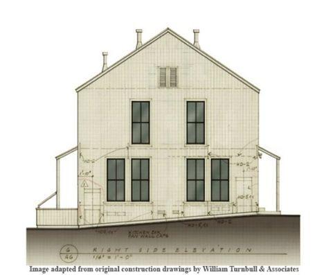 William Turnbull Drawing Shaker Inspired Farmhouse Style House Plans House Plans Ranch House Plans