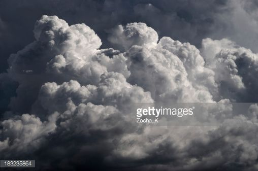 Stock Photo : Dramatic clouds