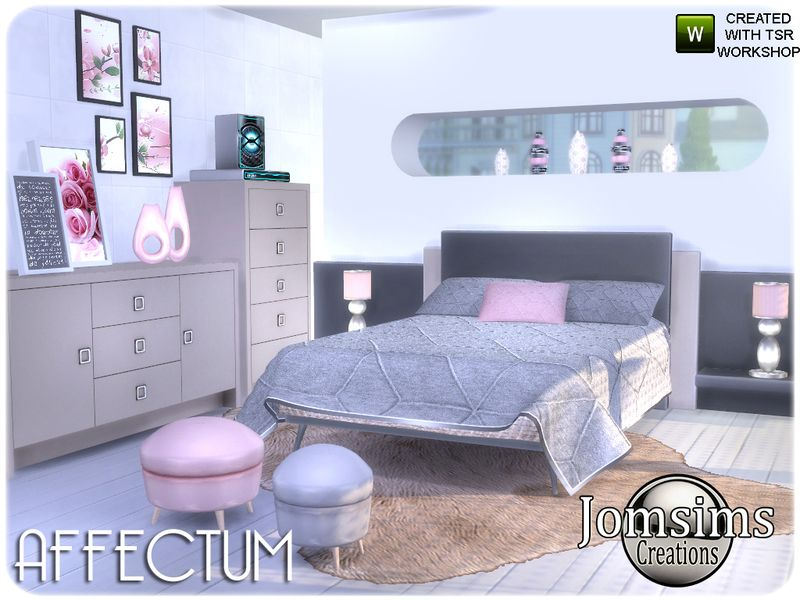 Here For Your Sims A New Bedroom , Found In TSR Category