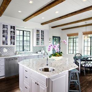 Jane Goetz Interior Design Kitchens Angular Kitchen
