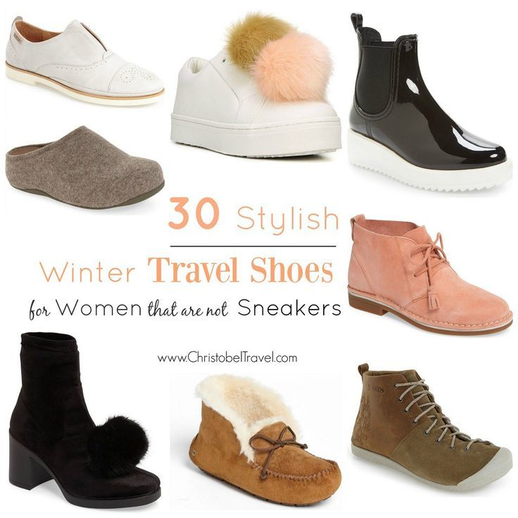 Stylish Winter Travel Shoes for Women