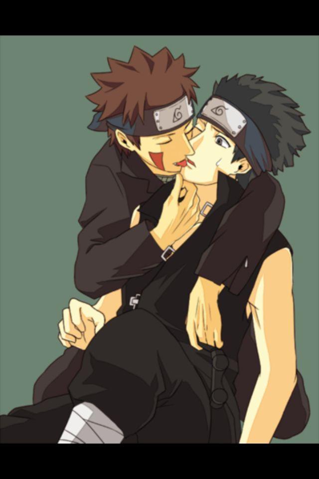 Naruto och Kiba gay sex