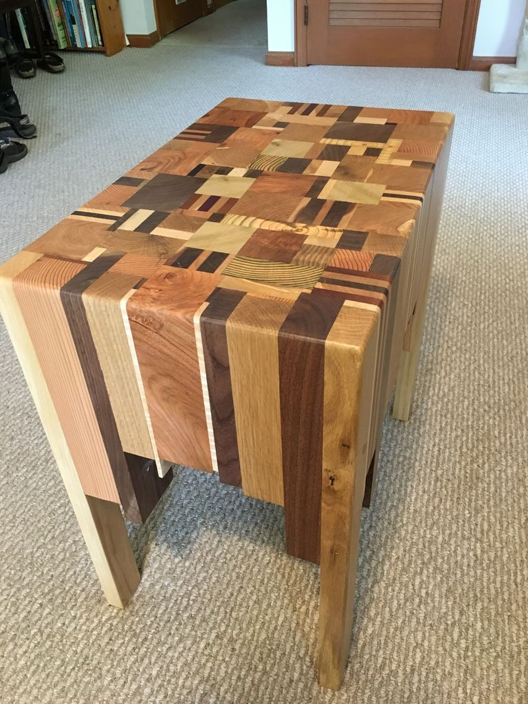 Diy Round End Table Easy
