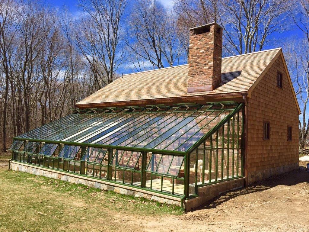 custom built lean to greenhouse greenhouse ideas pinte. Black Bedroom Furniture Sets. Home Design Ideas