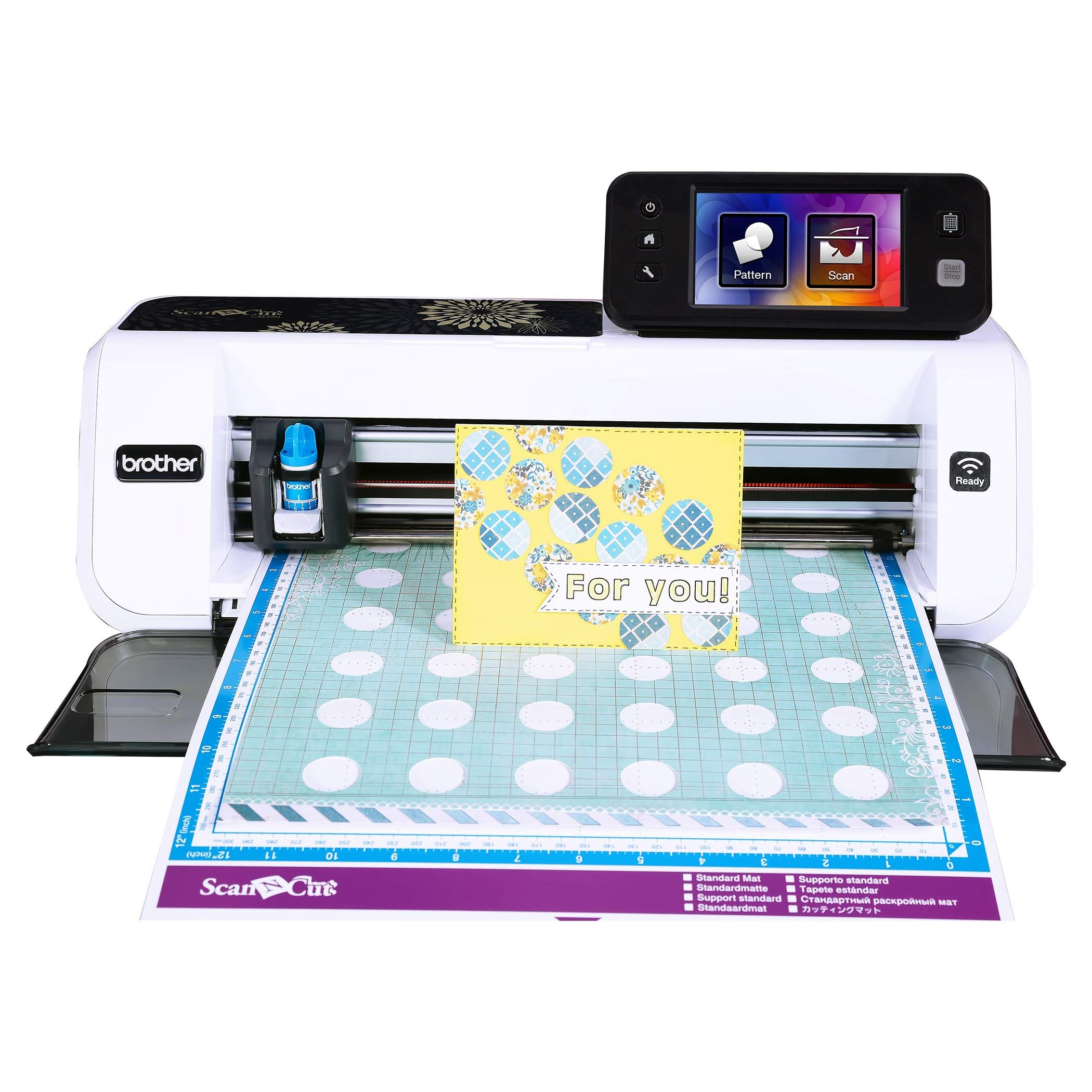 """Scanncut2 4.85"""" LCD Touch Screen Brother CM350 Electronic Cutting Machine"""