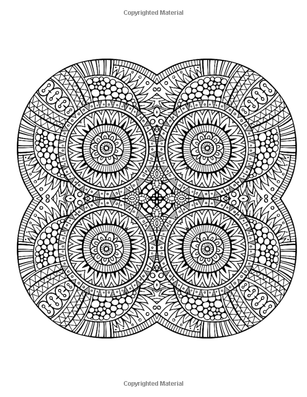 Amazoncom Insane Mandalas Vol 2 The Original Stress Inducing