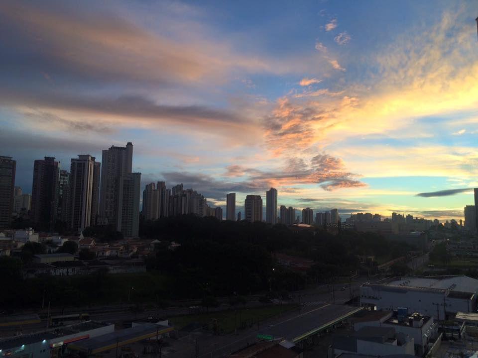 Vista aérea da Capital de São Paulo