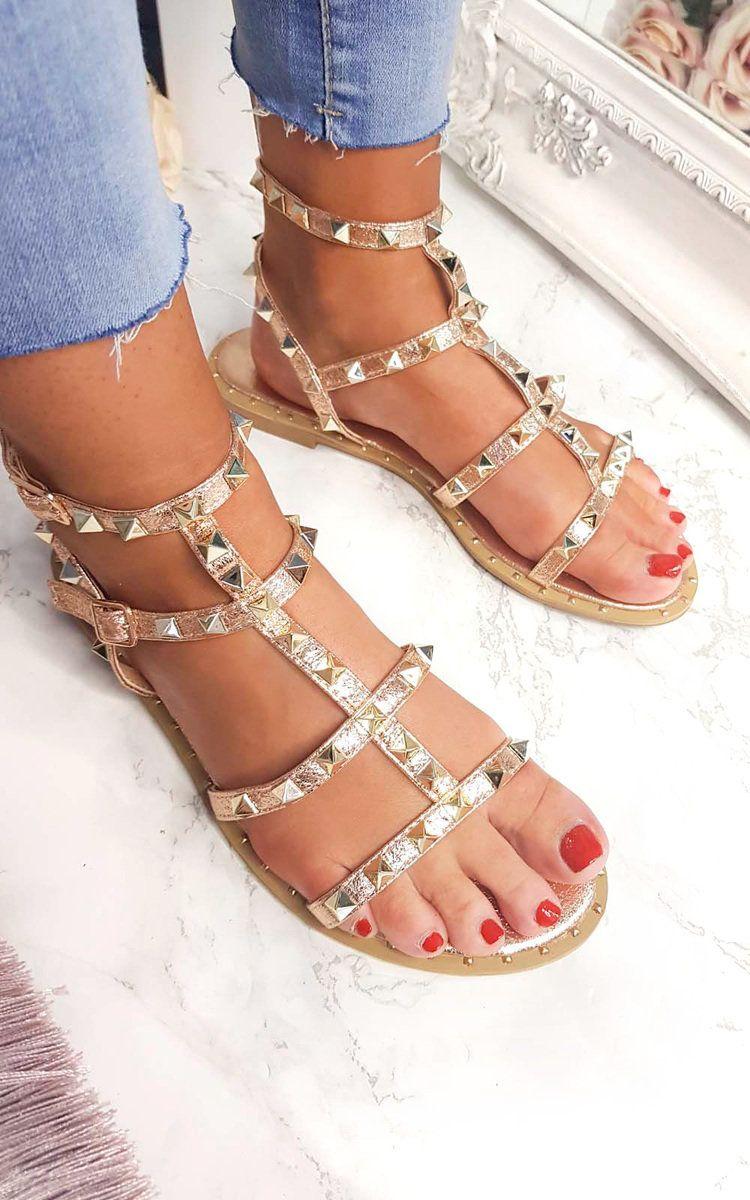 a5f69bbf782 Athena Studded Gladiator Sandals Thumbnail