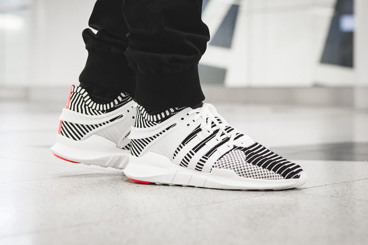 March 23, 2017 Adidas EQT Support ADV Primeknit « Zebra » Available via : -  Afew - Overkill - 43einhalb — #adidas #eqt #sneakers #sneaker #shoe #kicks  ...