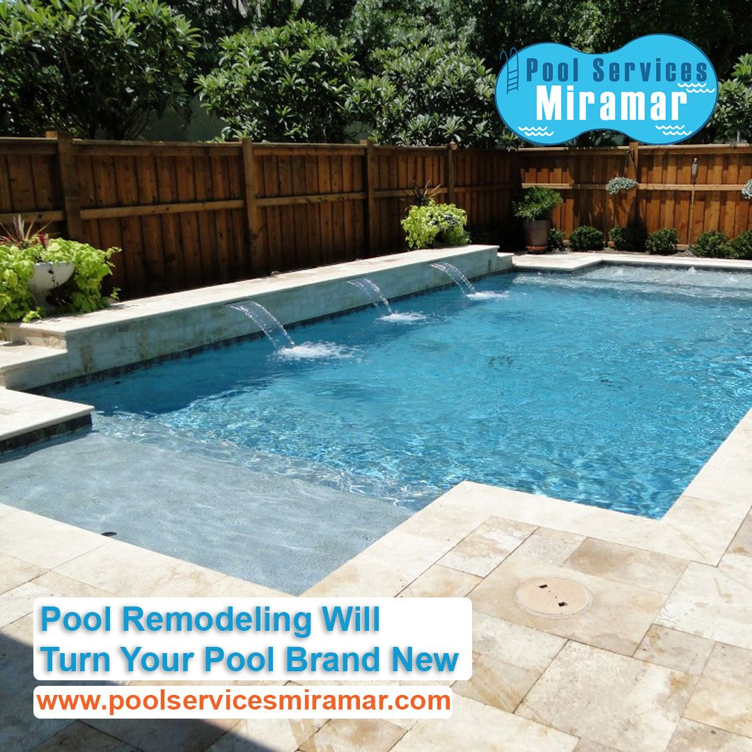 Pool Remodeling Will Turn Your Pool Brand New Pool Pool Remodel Pool Service