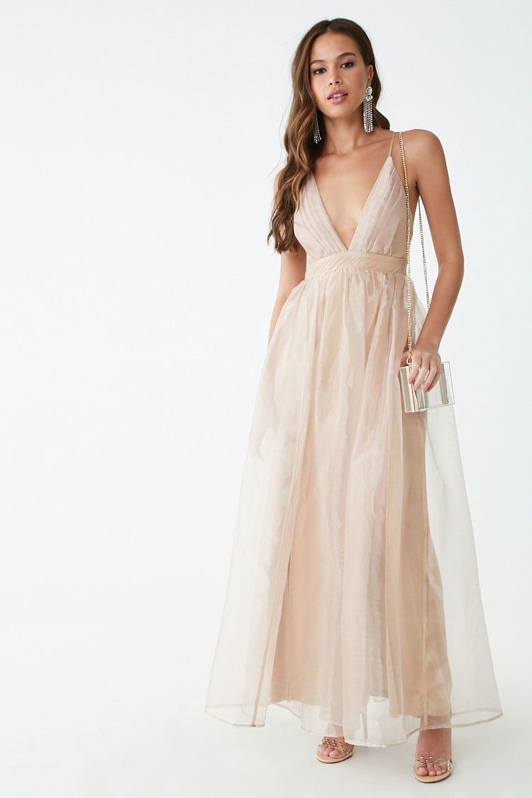 e04d292502 Pleated Organza Gown in 2019 | bridesmaids dec 7 2019 | Dresses ...