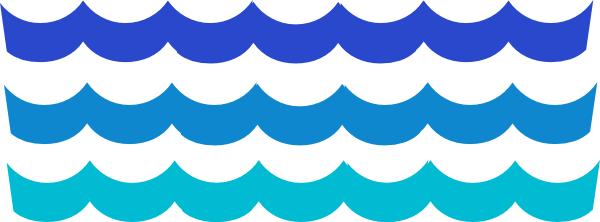 wave pattern clip art at clker com vector clip art online rh pinterest co uk Ocean Wave Clip Art Ocean Wave Clip Art
