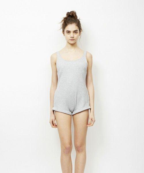 パジャマ The Great The Lounge Cotton Crop Pants ファッション