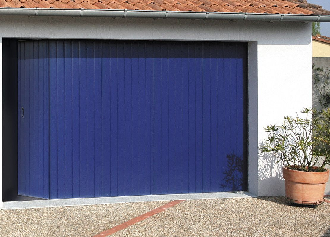 Modele Danemark Option Portillon Porte Garage Porte De Garage Coulissante Garage
