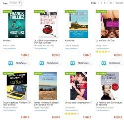 Cultura vous offre 3416 livres numériques gratuits à télécharger au format . epub ou à lire en ligne. Pour bénéficier de l'offre vous .