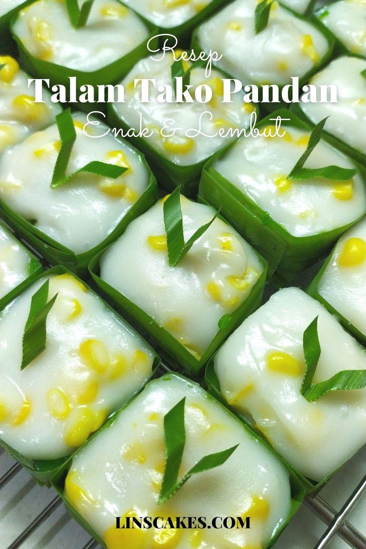 Resep Talam Tako Pandan Enak Dan Lembut Kue Resep Thailand