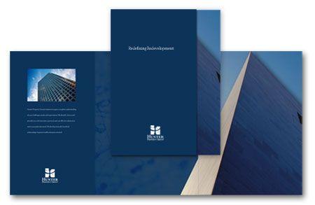 A Minimalist Brochure Design  Law Firm Brochure Design