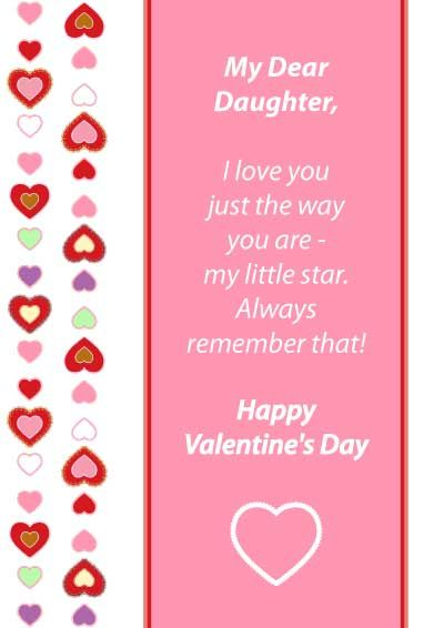 Printable valentines cards for daughter my free printable cards printable valentines cards for daughter my free printable cards m4hsunfo