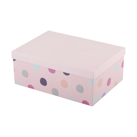Extra Large Polka Dot Gift Box Kmart Party Time Decorative