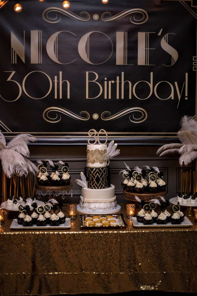 14 Hudson Party Piermont New York Paula Clemente Woods Event Designer Roaring 20s Great Gatsby Gold Sparkle Table Cloth Dessert