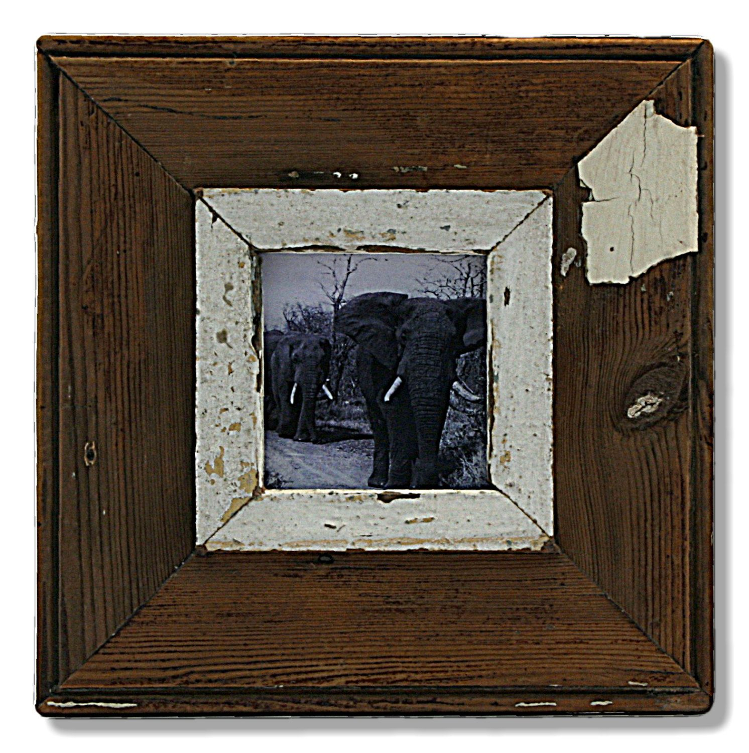 A small square shabby chic frame by Luna Designs, from a vintage ...