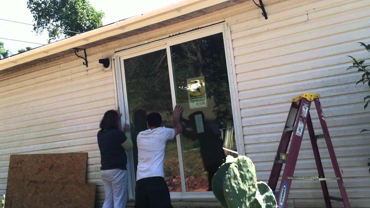 Diy how to install sliding glass door 58958994 rolling