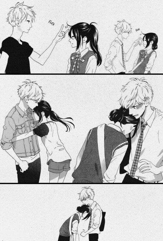 Anime manga couples - Dessin manga couple ...