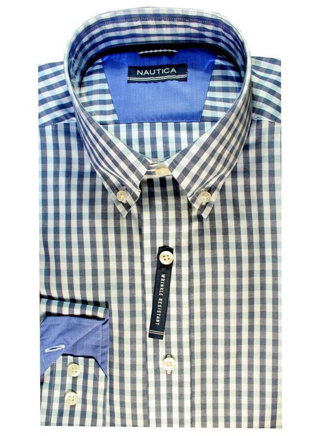 096903c10976 NAUTICA Καρό classic fit πουκάμισο