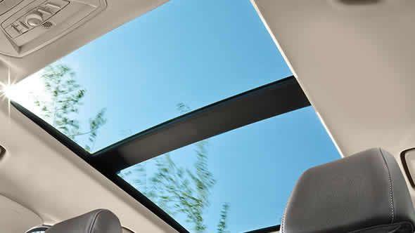 The 2015 Ford Escape Titanium Interior In Medium Light Stone With