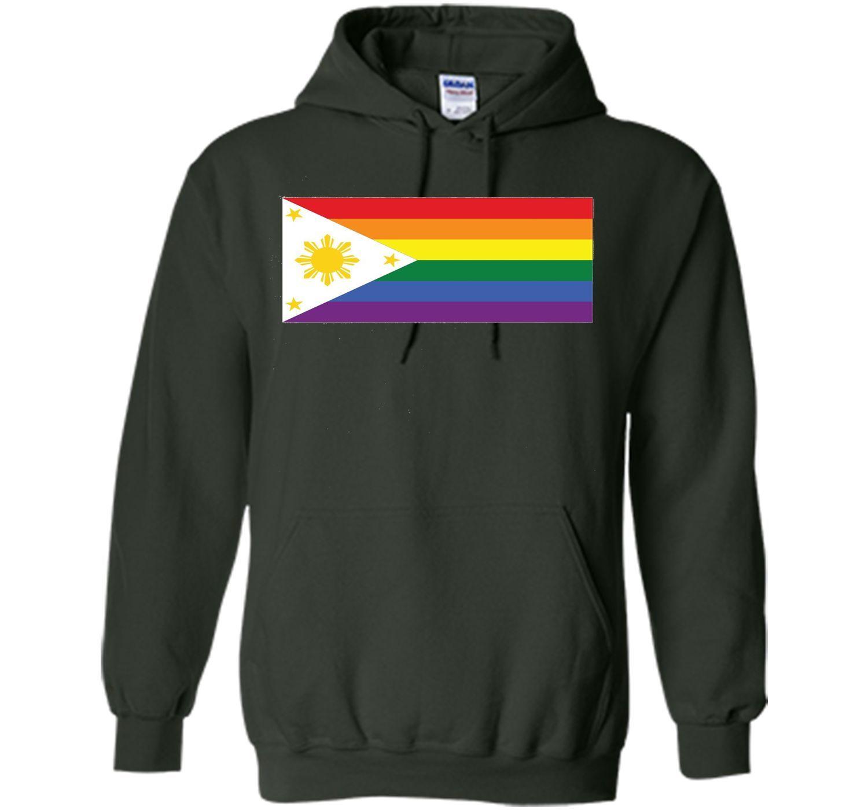 LGBT Gay Pride Rainbow Filipino Flag T-Shirt
