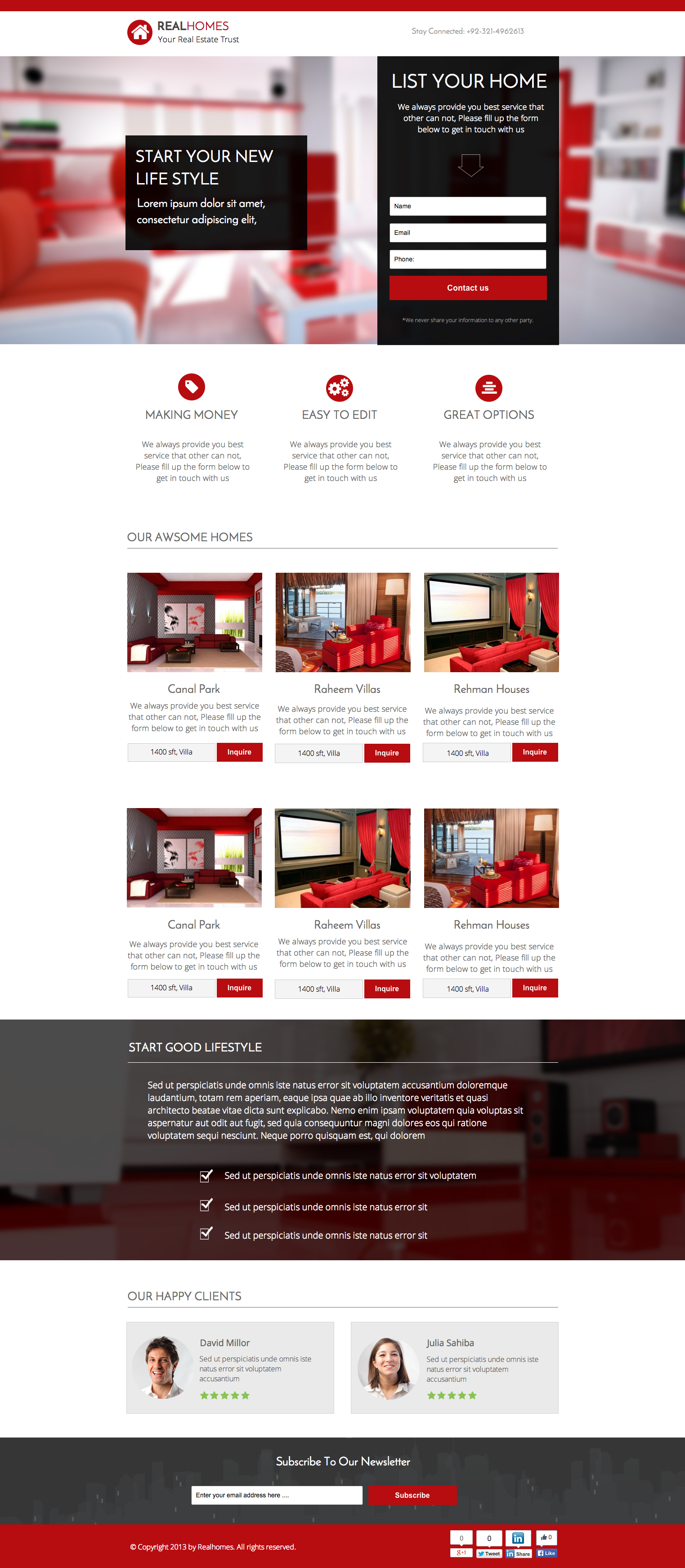 See the live template on Themeforest ➜ http://themeforest.net/item/instapage-realhomes-real-estate-landing-page/9339800