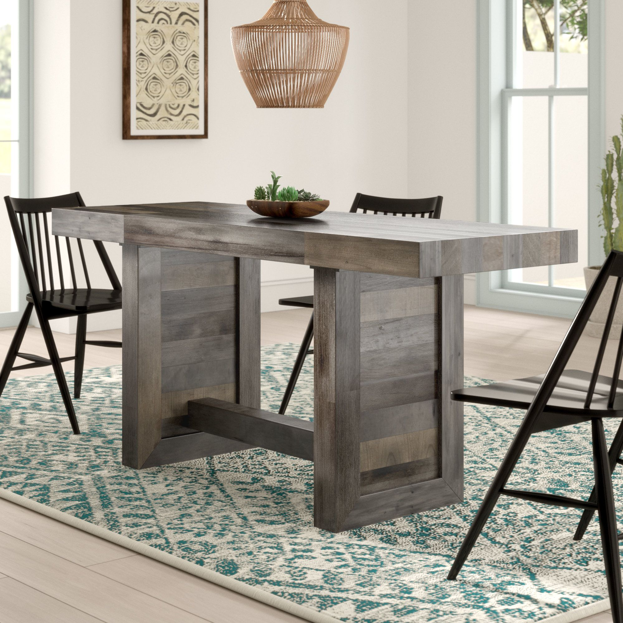 Abbey Counter Height Solid Wood Dining Table Dining Table Dining Table In Kitchen Solid Wood Dining Chairs