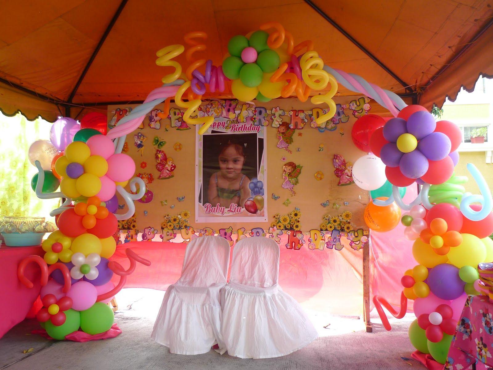Decoracion globos de flores flower balloon arch for Globos para quinceaneras