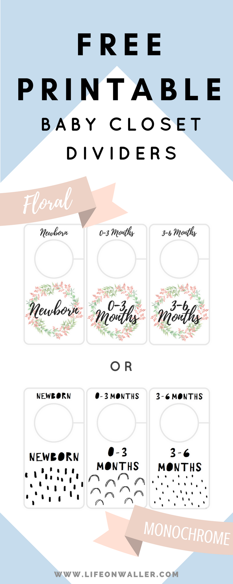picture relating to Free Printable Closet Dividers referred to as Cost-free Printable Child Closet Dividers Preemie in direction of 24 Weeks - 2