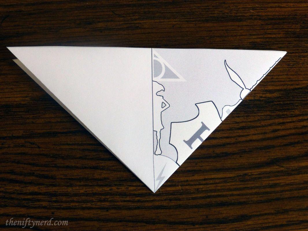 Folded Harry Potter Snowflake Pattern