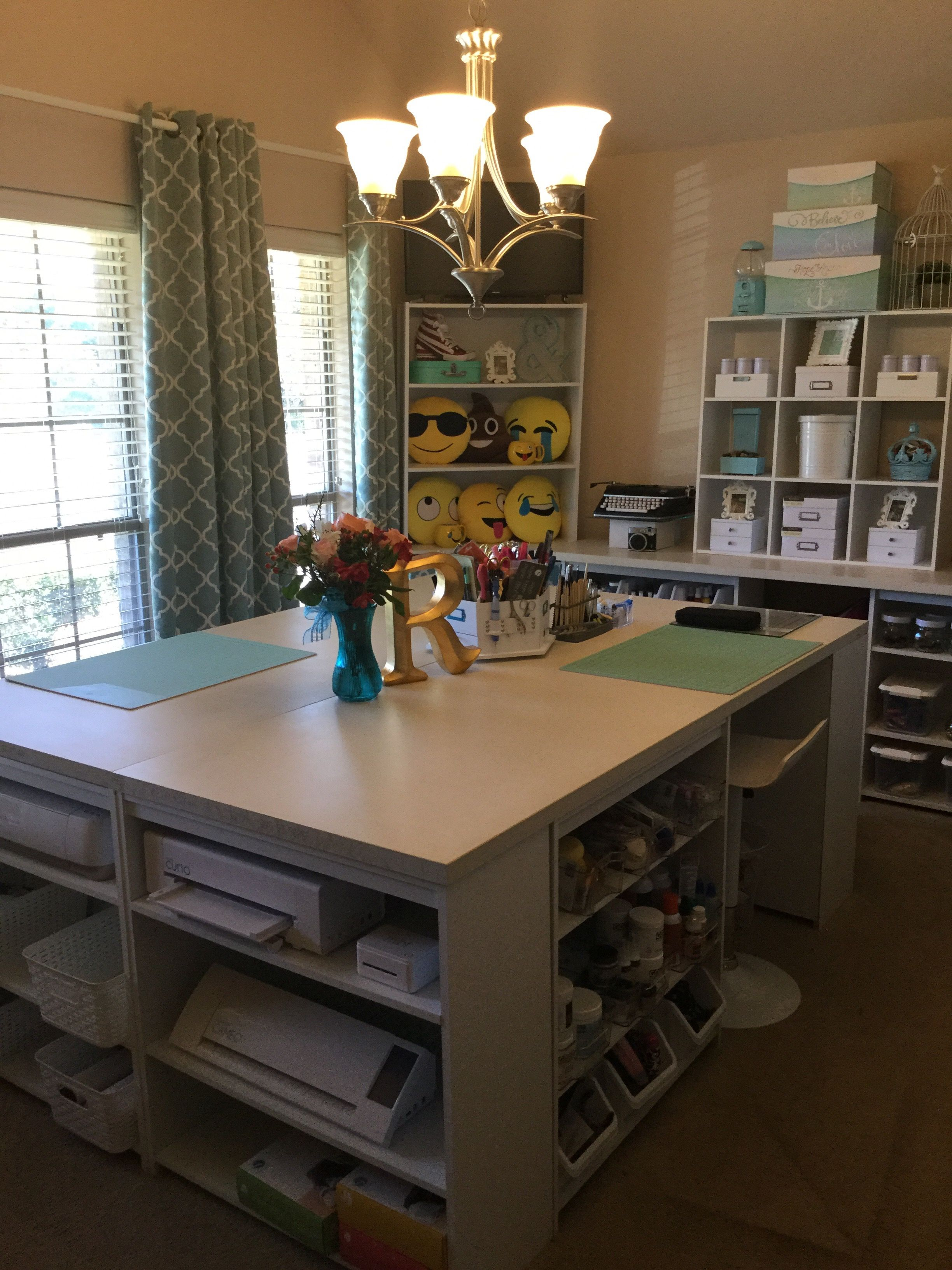 craftroom on a budget sewing room storage dining room on new garage organization ideas on a budget a little imagination id=17569