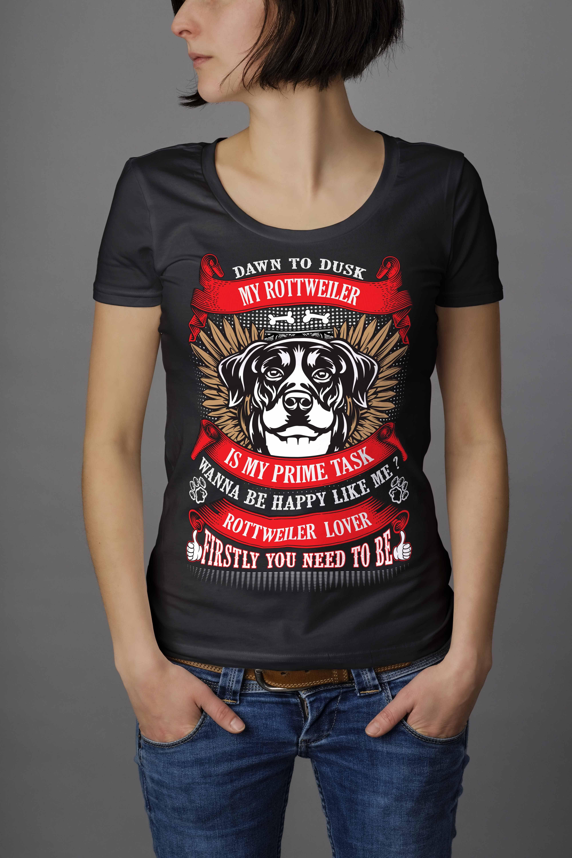 cefbb740c4b4 Rottweiler t-shirts for women, rottweiler, rotweiler puppies, rottweiler  funny, funny