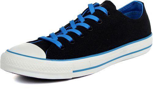90479b174f6f Converse Mens CT OX BlackBlue Basketball Shoes 9 Men US 11 Women US  gt  gt