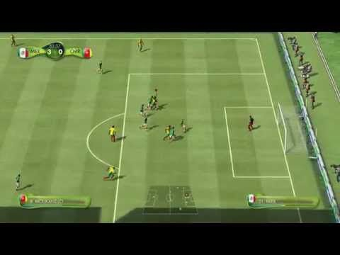 Primer Gameplay Fifa World Cup Brazil 2014 Mexico Vs Camerun Xbox 360 Fifa World Cup Fifa 13 Fifa
