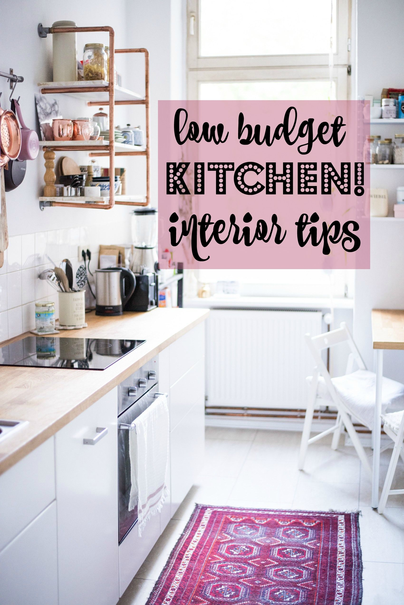 10 low budget interior tips for your kitchen | Erste wohnung, Küche ...