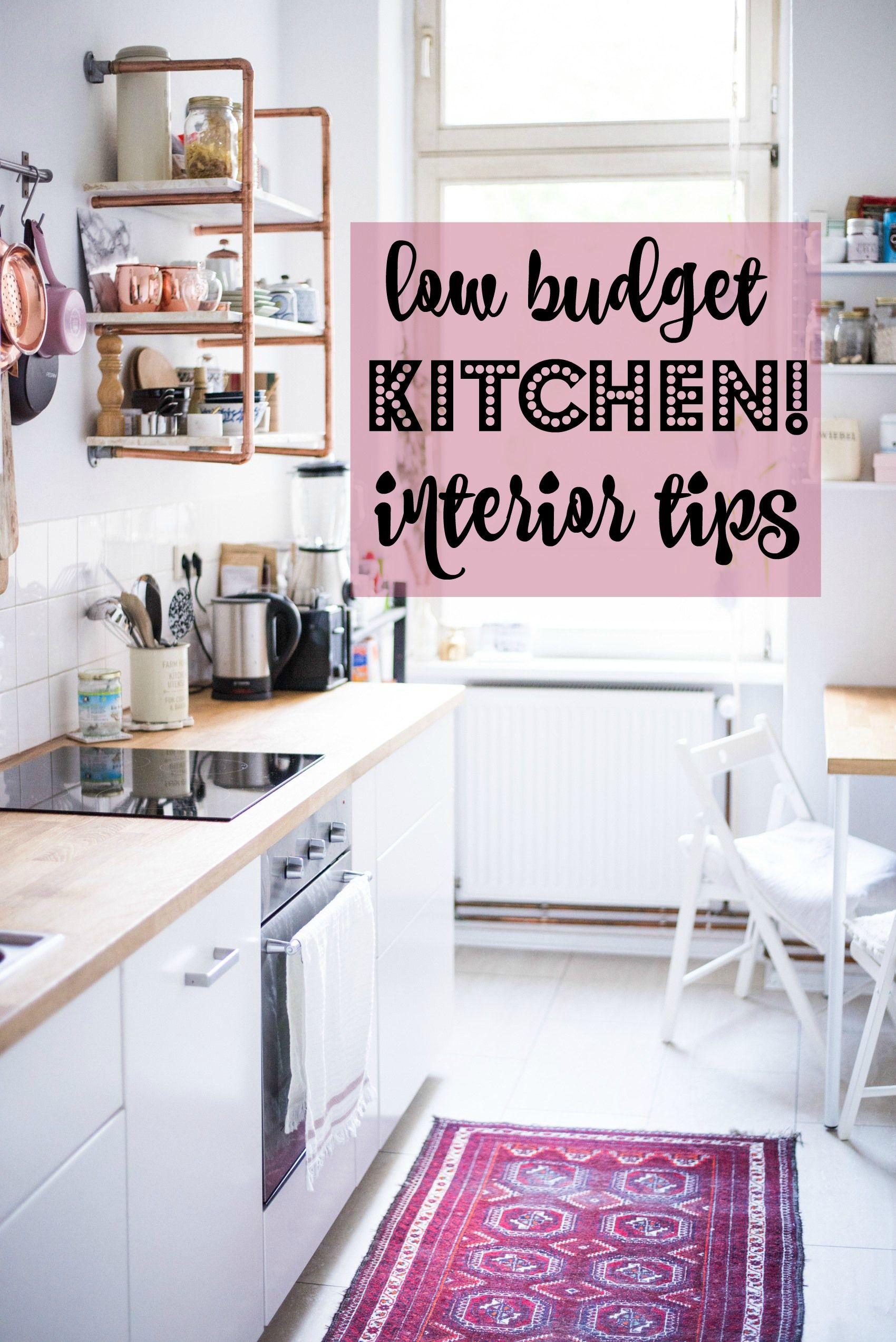 10 low budget interior tips for your kitchen | Küche und Zuhause