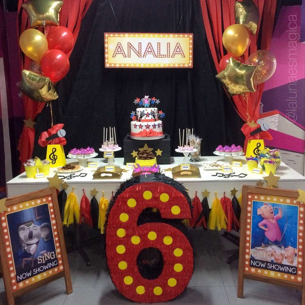 aa81053e5 Sing Birthday Party Ideas | Photo 4 of 5 | Baby's Birthday in 2019 ...