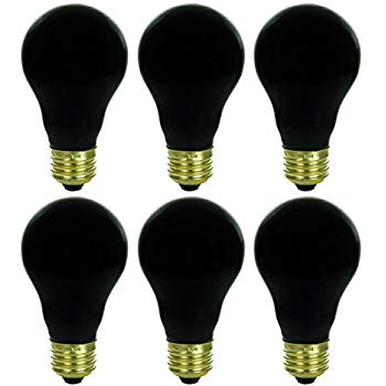 2 Pack Bluex Cfl Uv Blacklight Bulb 24w 100 Watt Equivalent E26 Spiral Replacement Bulbs Black Light Bulb Decorative Black Light Bulbs Bulb Incandescent