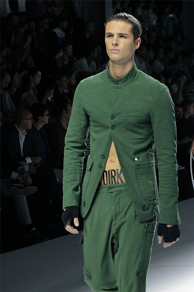 #Men's wear   Dirk Bikkembergs   Sport Couture Collection Spring Summer 2015 #Moda Hombre
